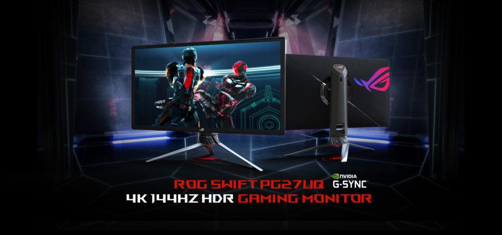 4K][HDR][1000nit][144Hz][G-Sync] PG27UQという理想の